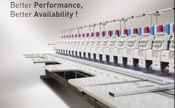 Flat Multi Head Automatic Embroidery Machine (ge Series)