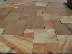 Indian Sandstone Paving Slabs