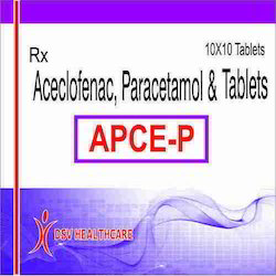 Aceclofenac Paracetamol and Tablets