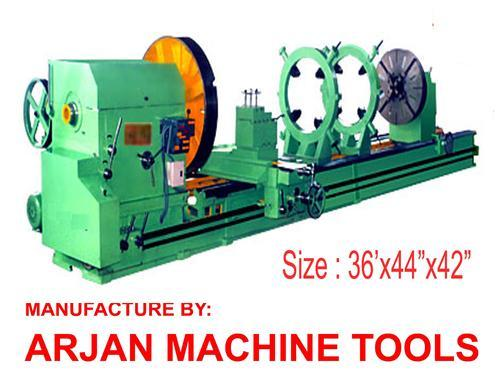 Manual Extra Heavy Duty Roll Turning Lathe Machine