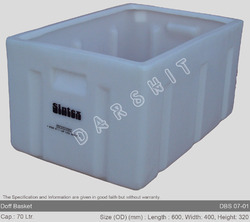 Sintex Doff Baskets / Crates ( Totes ) - Stackable - DBS