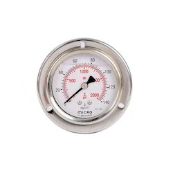 Glycerin Filled Pressure Gauge