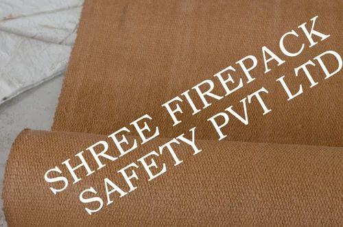 Vermiculite Coated Ceramic Cloth - Vermaculite Coated Fiber