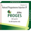 Natural Progesterone Injection