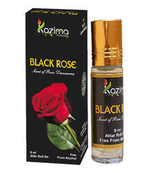 KAZIMA Black Rose Apparel Concentrated Attar Perfume