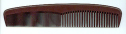 Brown Dressing Hair Comb