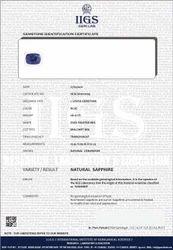 Gem ID. Report