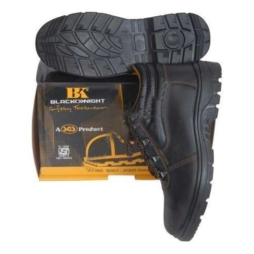 Black Knight High Ankle Safety Shoes