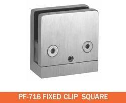 Fixed Clip Square Patch Fitting