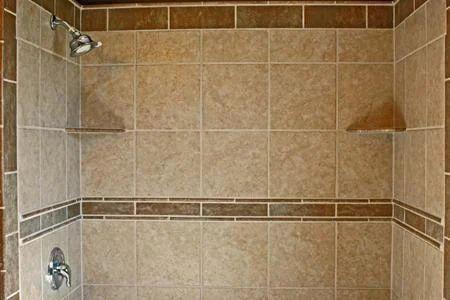 Travertine Tile Fixing Work In India In Surat Prajapati Builders - How to fix broken bathroom tile