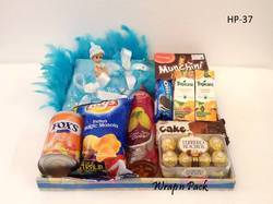 Baby Announcement Hamper Tray