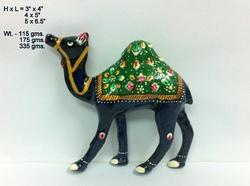 Meenakari Camel Sculptures