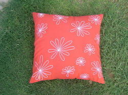 Peach Cushion Cover