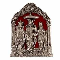 White Metal Ram Darbar Statute