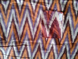 Designer Cotton Ikat Fabric