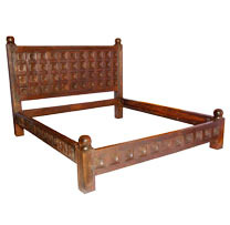 Wooden Old Carved Bed