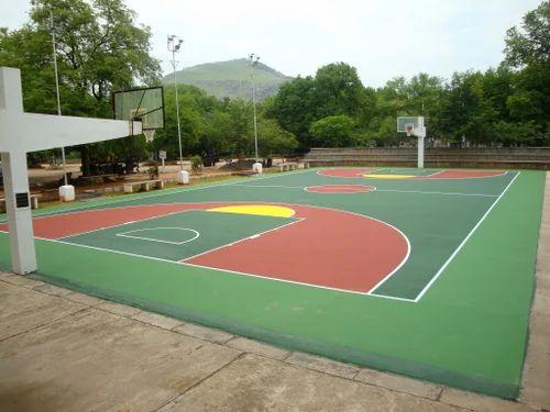 Outdoor Acrylic Sports Flooring Trulink Corporation
