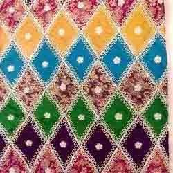 Multi Color Embroidered Suit