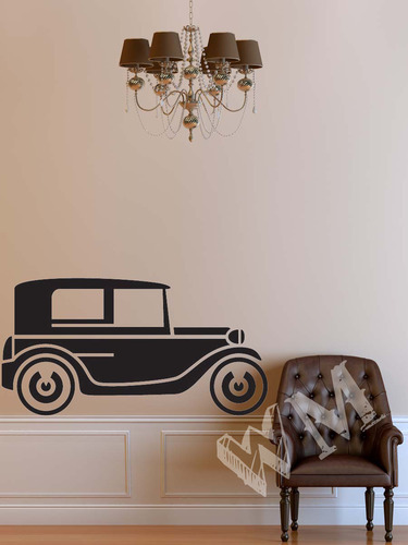Vintage Car Wall Decals