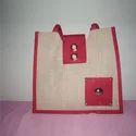 Jute Designer Bag-1004JB