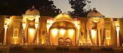 Color Coated Golden Palacial Decoration