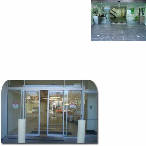 office sliding door.  Sliding Automatic Sliding Door For Office Premises Throughout