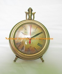 Golden Antique Clock