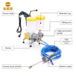 Injection Grouting Pumps Repairing