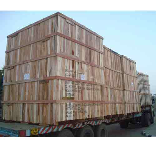 Heavy Engineering Wooden Box for Shipping