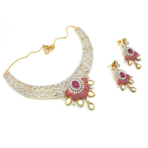 abfa144da Imitation Wedding Jewellery at Rs 550 /piece(s) | Pratapgunj ...