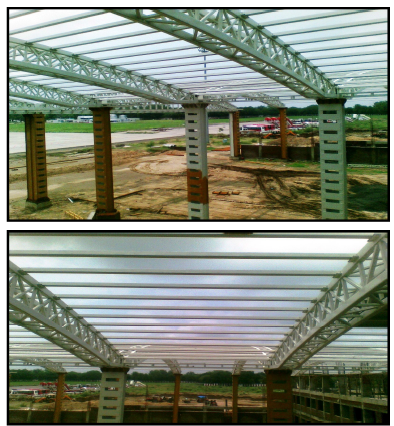 Heavy Steel Structures Fabrication