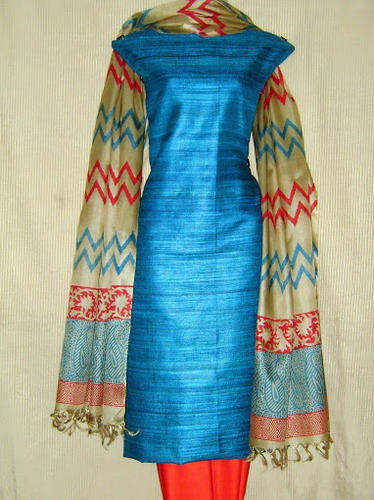 Ladies Cotton Suit and Kota Cotton Sarees and Supernet Sarees ...