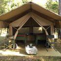 度假村的帐篷