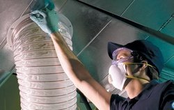 Robotic Air Conditioner Duct Cleaning Service