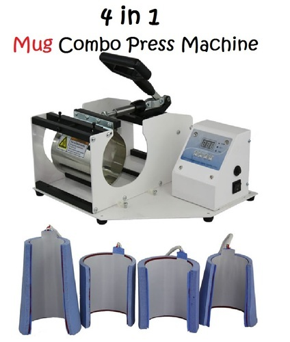 Original 4-In-1 Digital Mug Press Machine Combo