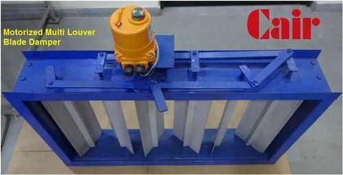 Motorized Multi Louver Blade Damper - Cair Electromatics