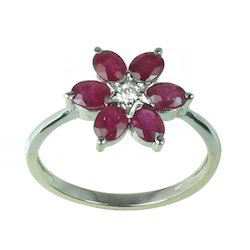 Floral Designer Ring