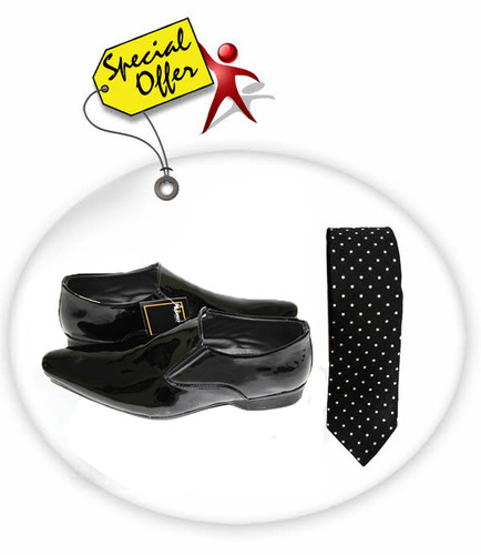 Formal Shoes & Neck Tie Combo
