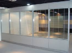 Aluminum Partition Work