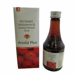 Anti-Oxidant, Multivitamins & Essential Minerals Syrup