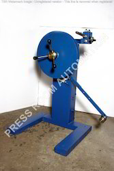 Pneumatic Coiler With Narrow Width Guide And Tension Winding