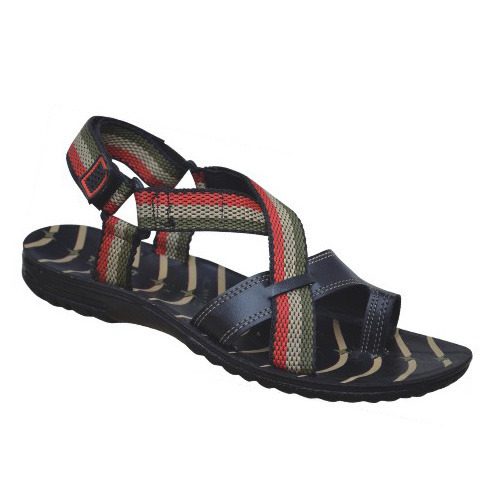 840ccb90e308b Stylish Strapped Gents Sandal - View Specifications   Details of ...