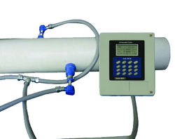 Spool Mounted Sensor Ultrasonic Flow Meter