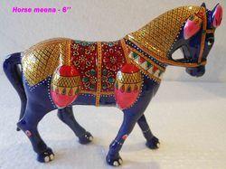 Meenakari Horse