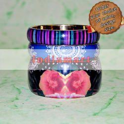Paper Laminated Custom Design - Resin Acrylic Jewellery