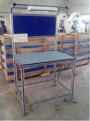 Adjustable assembly table metafold engineering private limited assembly table greentooth Image collections