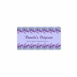 Potpourri Packaging Label