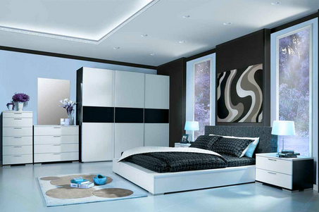 bedroom interior design & living room interior design service