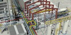 Detailing Of Steel Structure CAD / CAM  BIM Service