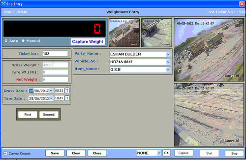 Weighbridge software, weighing scale software | sector 48.